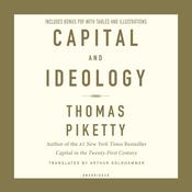 Capital and Ideology by  Thomas Piketty audiobook