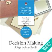 Decision Making by  Harvard Business Review audiobook