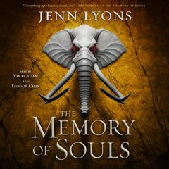 The Memory of Souls by Jenn Lyons audiobook