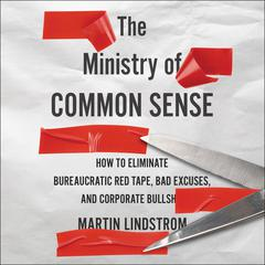 The Ministry of Common Sense by Martin Lindstrom audiobook
