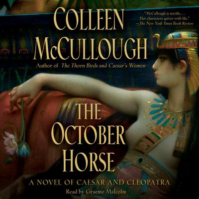 The October Horse by Colleen McCullough audiobook