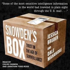 Snowden's Box by Dale Maharidge audiobook