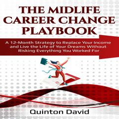 The Midlife Career Change Playbook by Quinton David audiobook