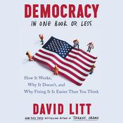 Democracy in One Book or Less by  David Litt audiobook