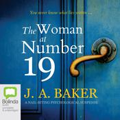 The Woman at Number 19 by  J. A. Baker audiobook